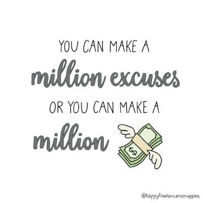 Million excuses