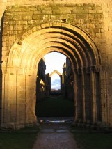 Inside the Church of Fountain Abbey