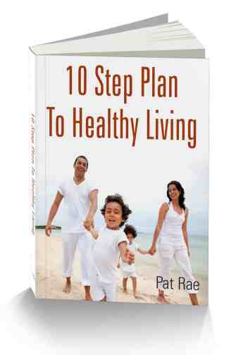 10 Step Plan To Healthy Living-Book Cover 3D