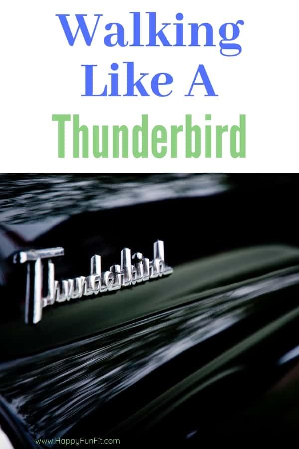 Walking Like a Thunderbird, sore legs from Training them