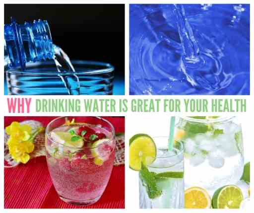 Why Drinking Water Is Great For Your Health