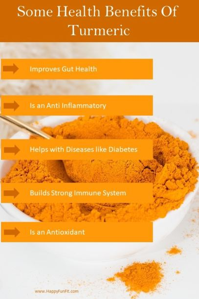 Health Benefits of Turmeric: Improves Gut Health, Is an Anti-Inflammatory, Helps with diseases like Diabetes and Arthritis, Builds strong Immune System, Is an Antioxidant GREAT for so many things. #healthbenefitsturmeric, #turmeric #Improvesguthealth #antiinflammatory #strongimmunesystem #antioxidant