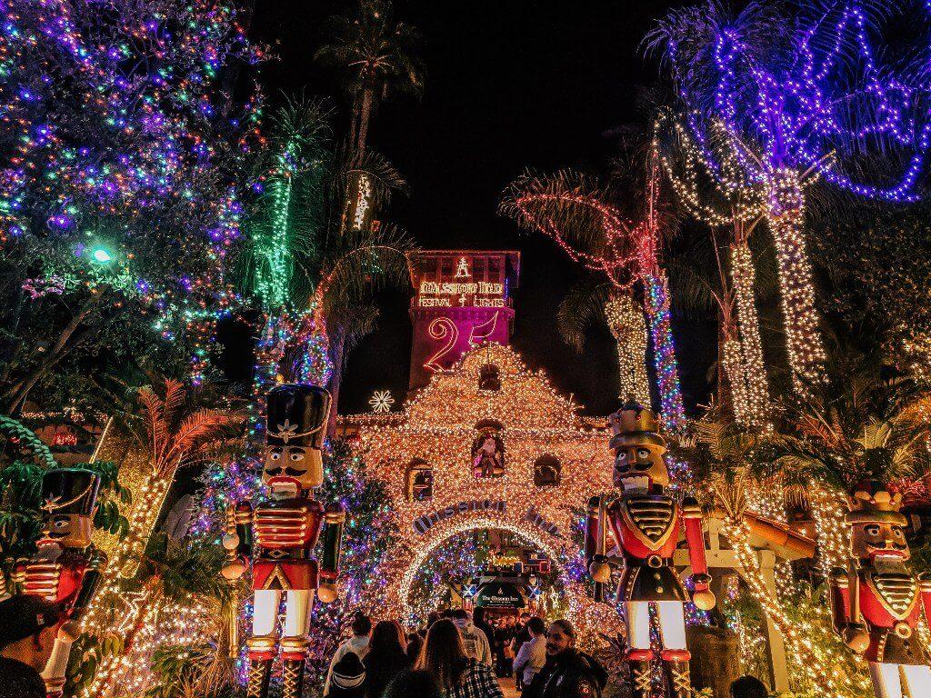 The Christmas Inn.Mission Inn Festival Of Lights An Insider Guide