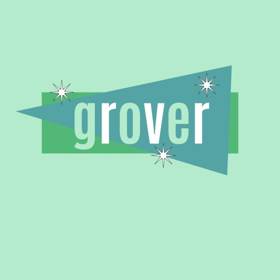 name grover in retro design