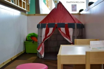 oodness greens kids area