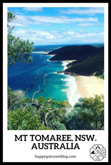 View from the summit of Mt Tomaree | Nelson Bay | Port Stephens | Australia