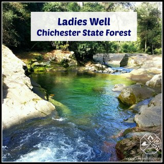 Ladies Well, Chichester State Forest | Barrington Tops | waterfalls
