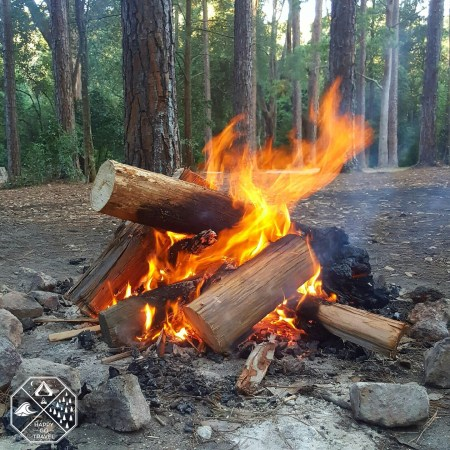 How to build a campfire | campfire