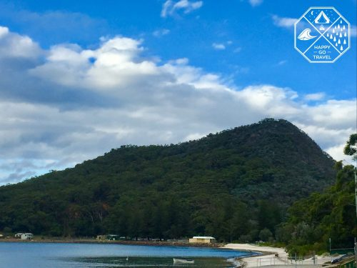 Looking up at Mount Tomaree, Port Stephens NSW | Nelson Bay