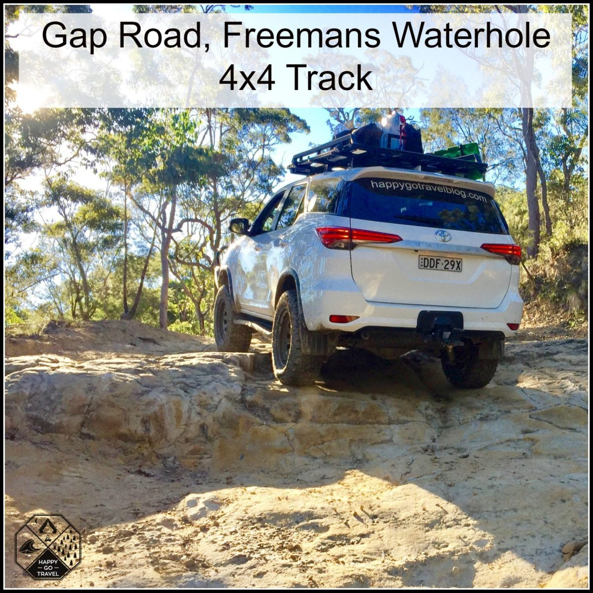 Gap Rd Freemans Waterhole 4x4 Track