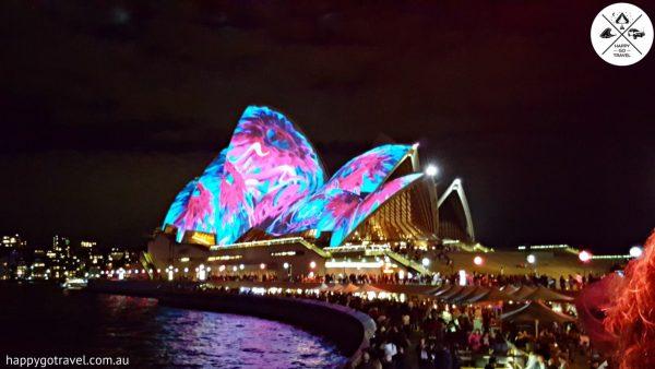 Vivid Sydney Lighting of the sales