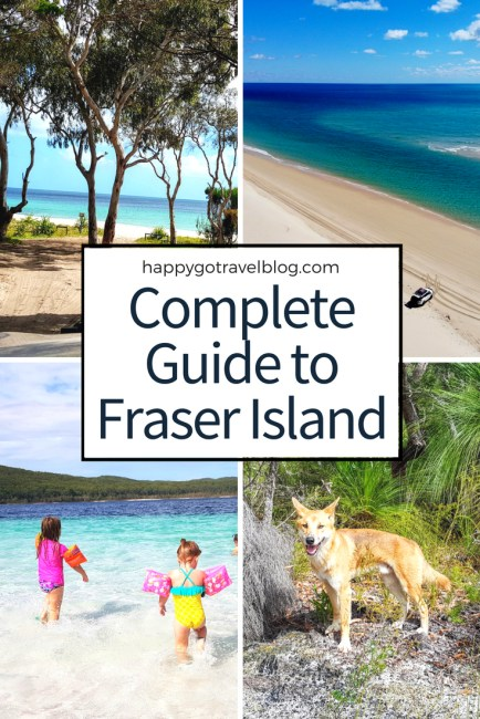 Happy Go Travel - Complete Guide to Fraser Island | #travel #Queensland #FraserIsland