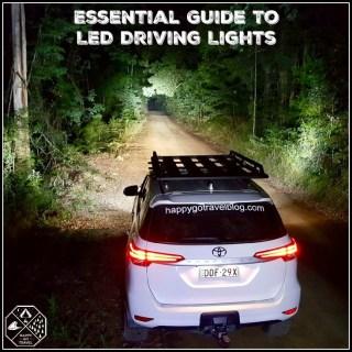 stedi lights forest rd Watagans LED driving lights