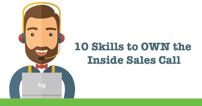 Inside sales skills