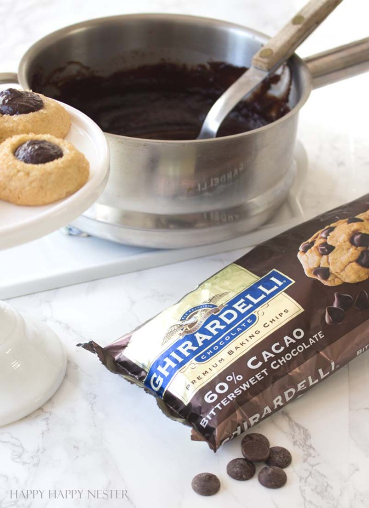 These wonderful Chocolate Thumbprint Cookies are rolled in turbinado sugar for a sweet crunchy outer layer. The chocolate ganache is a perfect pairing to the awesome little cookie. Baking   Cookie Recipe   Recipes   Desserts   Cookie   Chocolate Ganache   Cookies   Homemade Cookies   Best Cookies   Chocolate Cookie