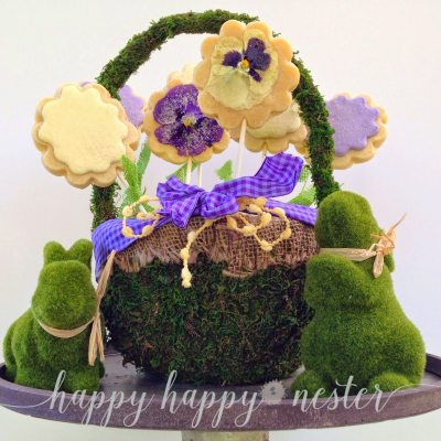 Cookie Bouquet: Easy to Make Cookie Basket