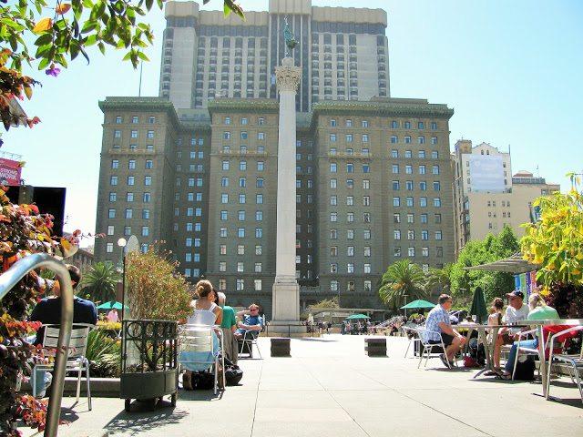 San Francisco Union Square statue