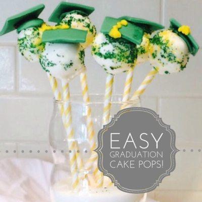 Cake Pops and Graduation