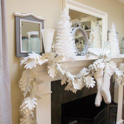 DIY Home Decor. Paper Garland