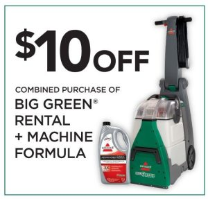 Bissell Carpet Cleaner coupon