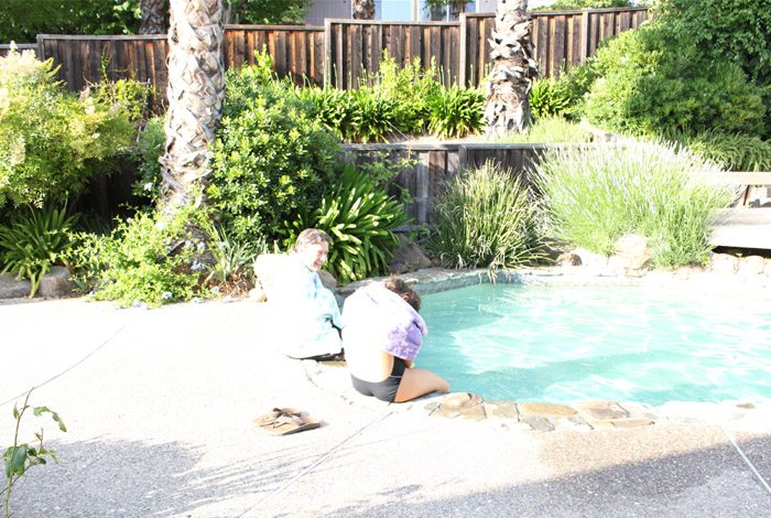 bissell carpet cleaner pool shot