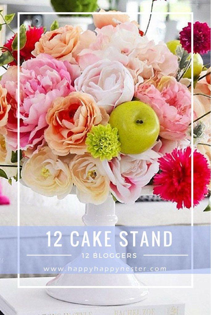 creative cake stand pins