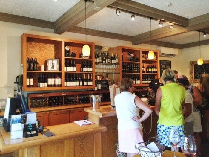Wente Vineyards wine tasting rooms