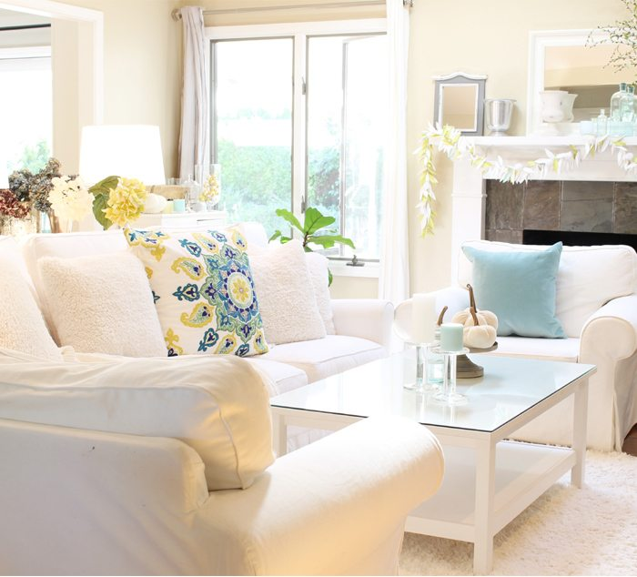 summer home tour couch sm