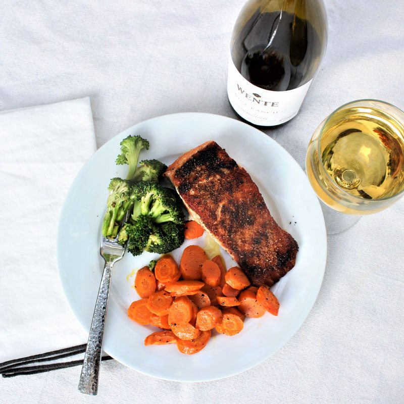 This salmon recipe is the easiest way to prepare fish. It always comes out crispy crusty and moist. You'll love this easy recipe and so will your family.
