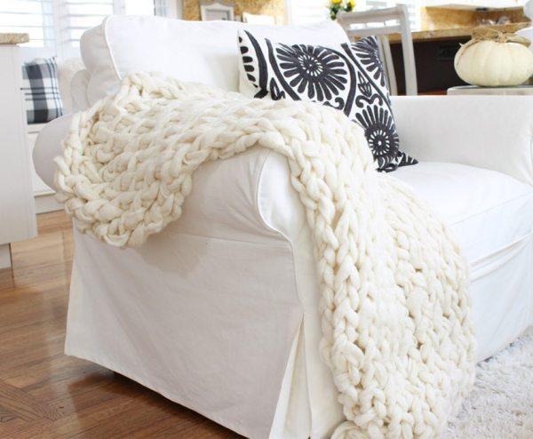 easy arm knitting
