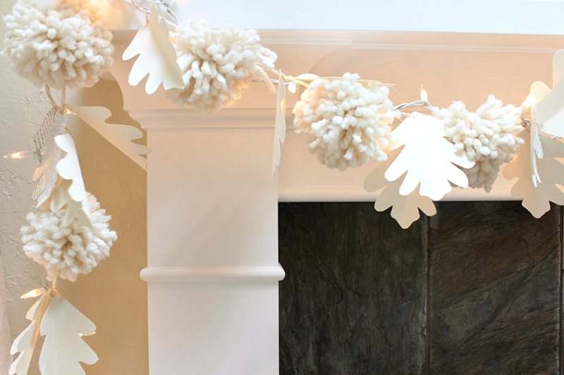 home-tour-garland pom poms