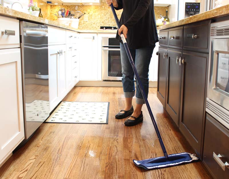 Bona Power Plus Hardwood cleaning products are my key to clean wooden floors. I'm in love with microfiber deep clean pad which helps with stubborn stains.