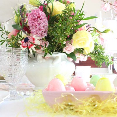 DIY Easter Egg Candles: Recycle Old Candle Wax