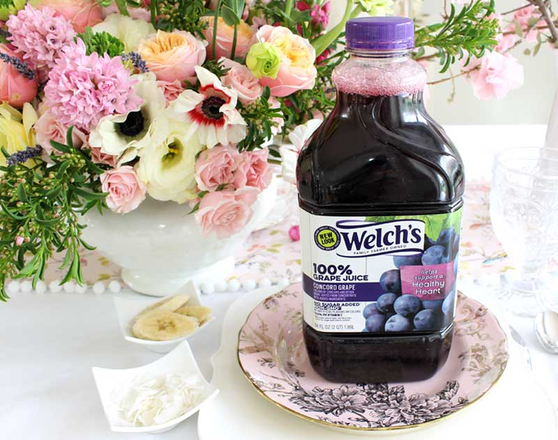 welches 100% grape juice a great heart healthy choice