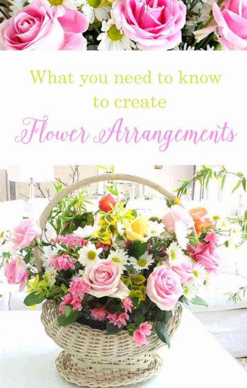 10 helpful ideas to creating $15 flower arrangements. It is easy to design if you just know a few tricks that I use. Flowers arrangements can be fun!