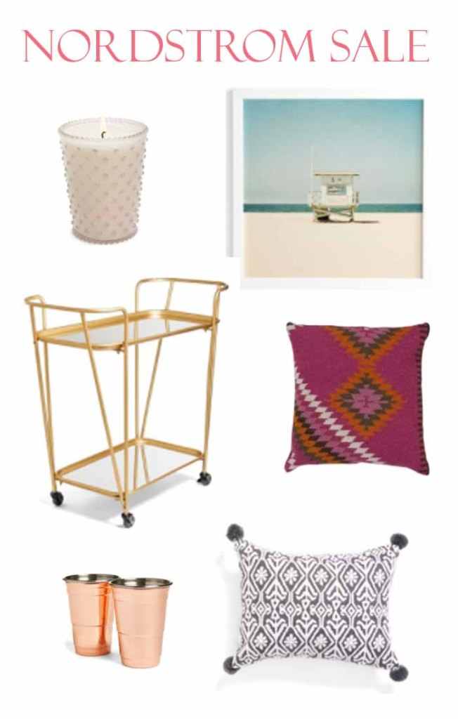 The Annual Nordstrom sale is the best every packed with great deals. Don't miss out and check out my choice of home decor items.