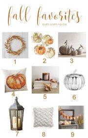 Sneak Peek at my Fall Favorites