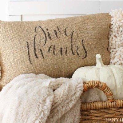 Free Fall Printable | A Happy Pillow Made Just for You