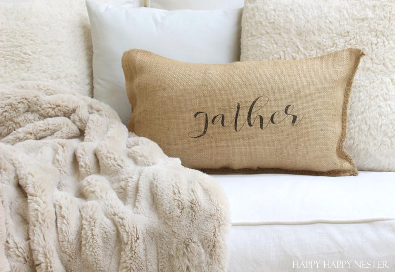Pottery Barn ruched throw