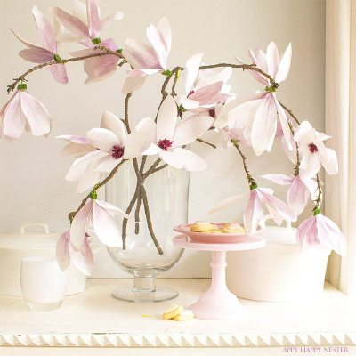 Paper Flower Tutorial: Magnolia Flowers