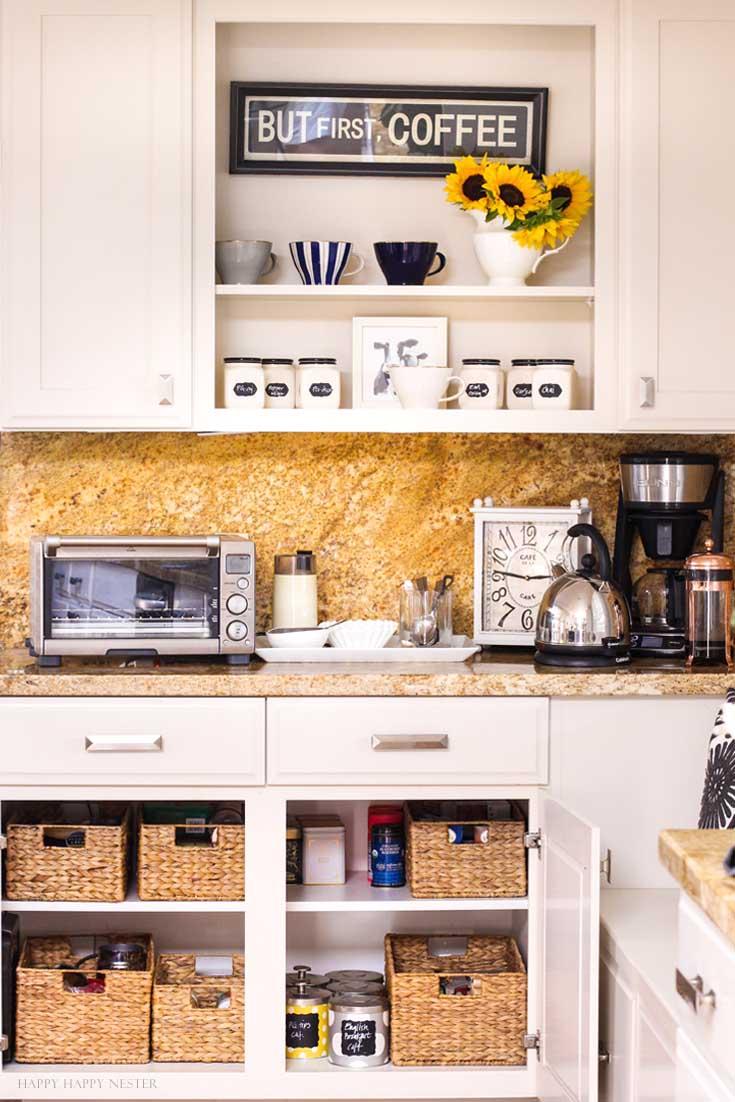 kitchen organization ideas diy