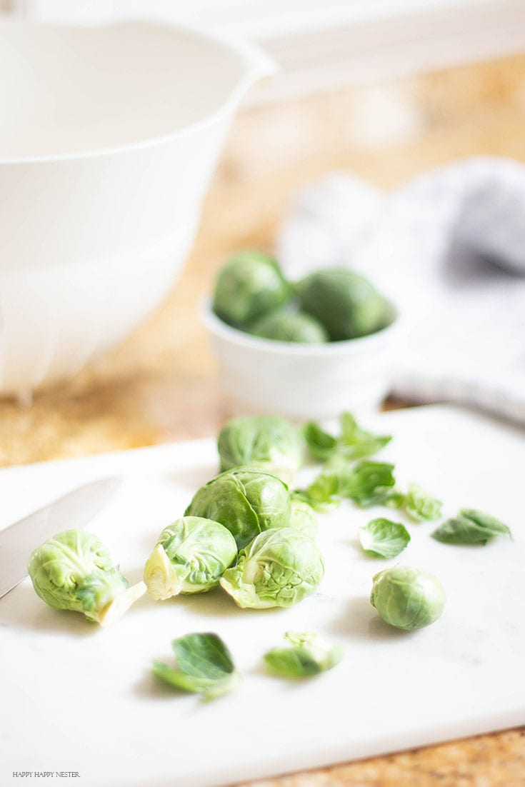 how to buy brussels sprouts to make the best caramelized roasted brussels sprouts