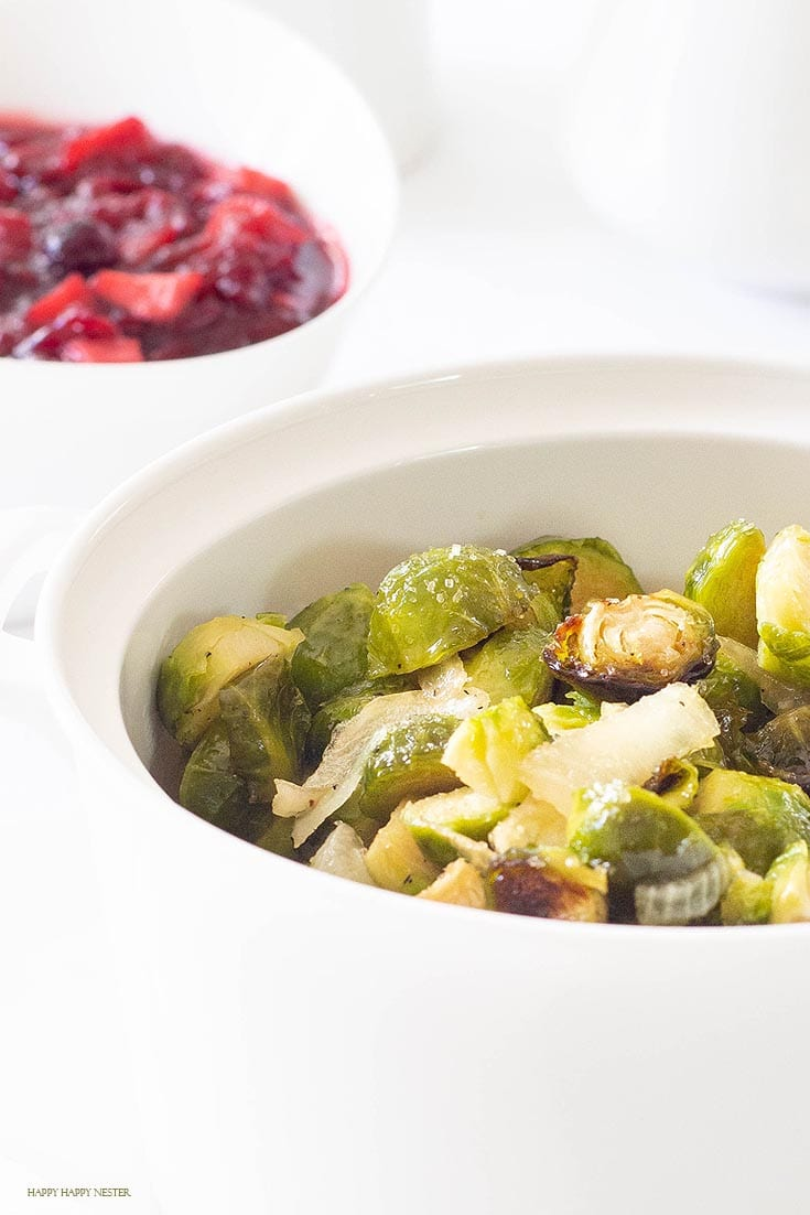 the best caramelized roasted brussels sprouts recipe with onions