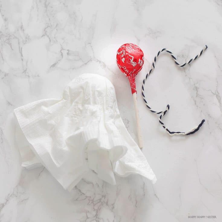 lollipop ghosts treats tutorial