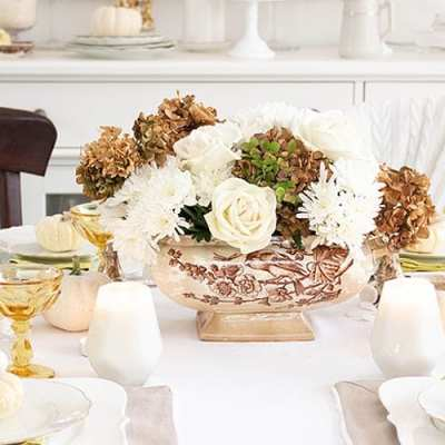 Creating an Inexpensive Thanksgiving Table