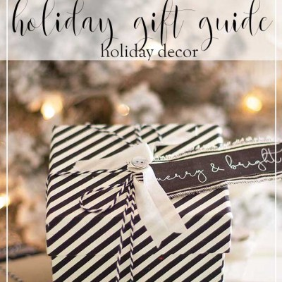 Shop My Merry and Bright Holiday Decor