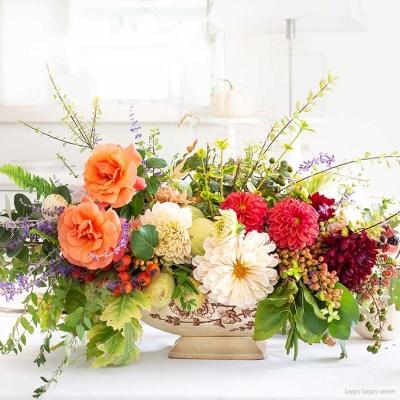 DIY Foraged Flower Arrangement