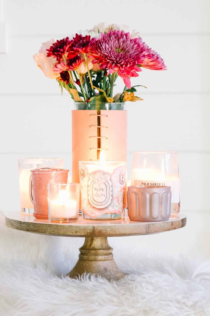 Candles on cake stands are the best way to display them. Cake stands are easy ways to decorate a table or your home. I have gathered some Cute Ways to Use a Cake Stand that I'm sure you'll love. You can use them for the holidays or even a wedding reception. They add drama and interest because of their styles and heights. #cakestands #decorating #weddings #flowers #decor