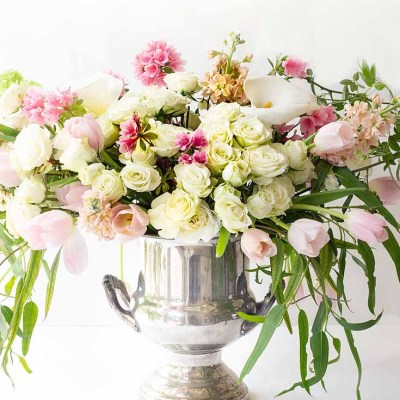 Create a Gorgeous Mother's Day Floral Bouquet