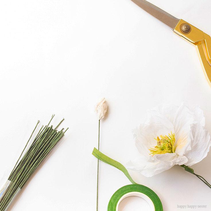 easy faux flowers diy